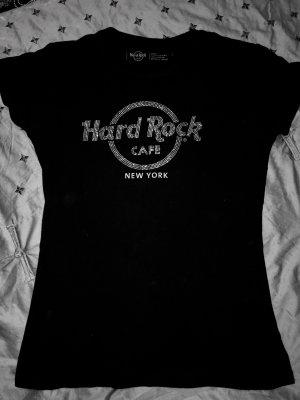 Hard Rock Café shirt mit steinchen schwarz New York neu 40$