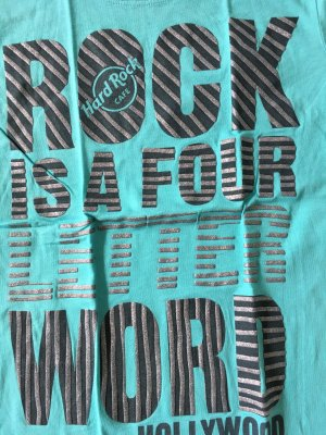 Hard Rock Cafe T-Shirt Türkis Gr.M