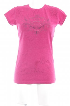 Hard Rock Cafe T-Shirt violett Casual-Look