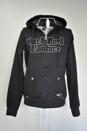 Hard Rock Woman Kapuzenjacke mit Glitzerapplikationen