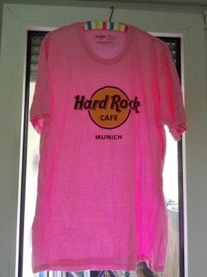 Hardrock Cafe München, Tshirt, rosa. Rarität