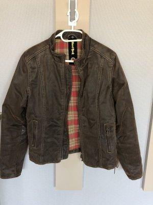 Hard Rock Cafe Leather Jacket multicolored