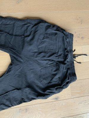 Hudson Pantalón estilo Harem negro