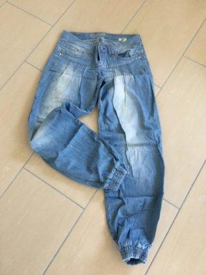Cordon Jeans boyfriend azzurro-blu fiordaliso Cotone