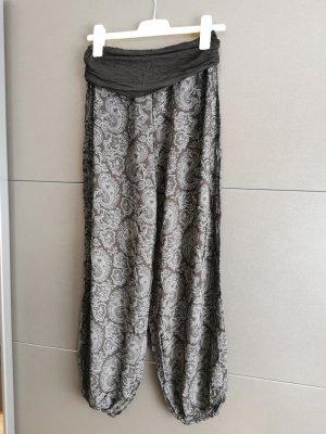 Harembroek zwart-grijs