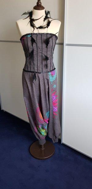Pantalón estilo Harem multicolor Algodón
