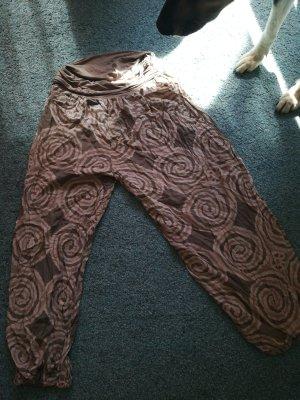 Pantalón estilo Harem multicolor