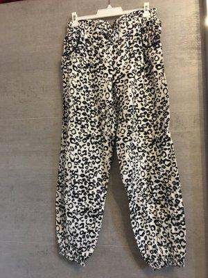 Amisu Harem Pants black-white