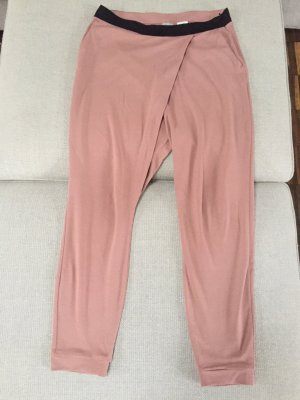 Hess Natur Pantalón estilo Harem color rosa dorado