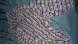 Pantalón estilo Harem color bronce-rojo oscuro