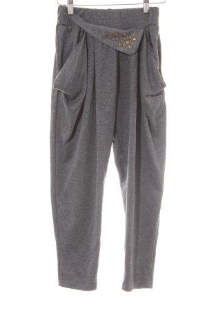 Harem Pants dark grey street-fashion look