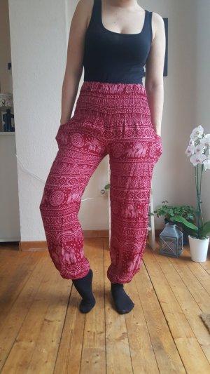 Harem Pants bordeaux