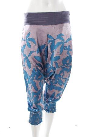Pantalón estilo Harem estampado floral