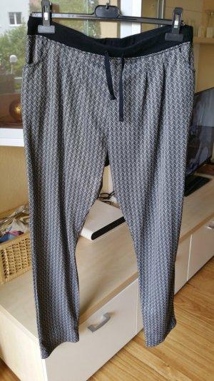 Haremshose grau schwarz gr. 42