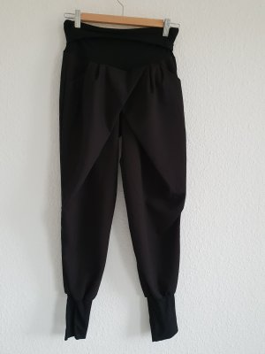 Rinascimento Harem Pants black mixture fibre