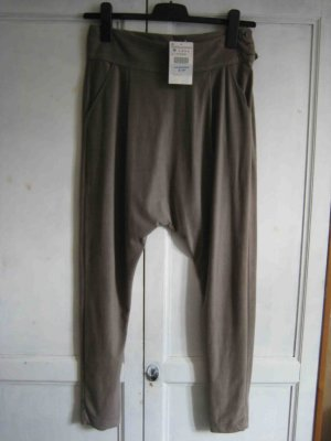 Zara Trousers grey violet polyester