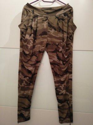 Haremshose Joggingshose Camouflage
