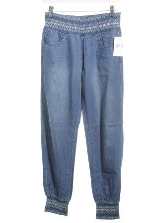 Harem Pants cornflower blue casual look