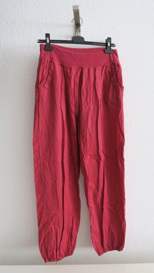 Harem Pants red-brick red