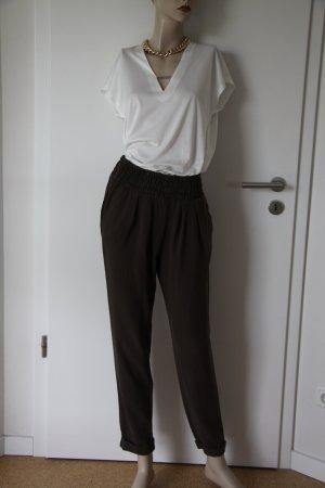 Haremshose von Mango Suit in Khaki Größe M