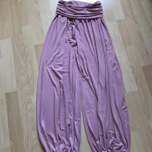 Rainbow Pantalón estilo Harem rosa