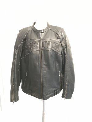 Harley Davidson Motorrad-Jacke Gr.XXL Lederjacke mit Protektoren