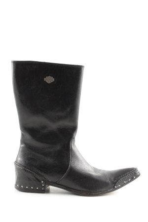 Harley Davidson Western Boots black casual look