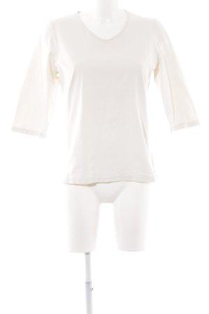 Harmony V-Ausschnitt-Shirt hellbeige Casual-Look