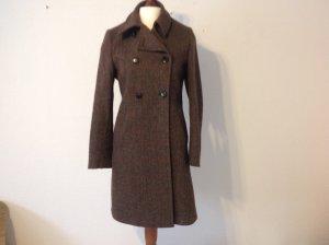 Abrigo de lana multicolor lana de esquila