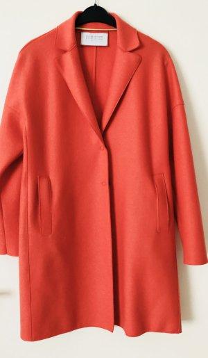 HARRIS WHARF LONDON 100% Schurwolle Oversized Mantel