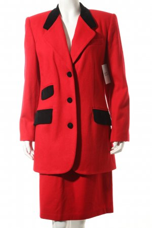 Harrison Kent Kostüm rot-schwarz Vintage-Artikel
