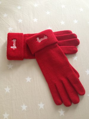 """Harrods of London"" Logo Gloves"