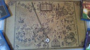 Harry Potter 9 3/4 Kette inkl. Weltkarte