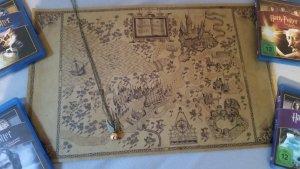 Harry Potter Snatch Kette & Weltkarte