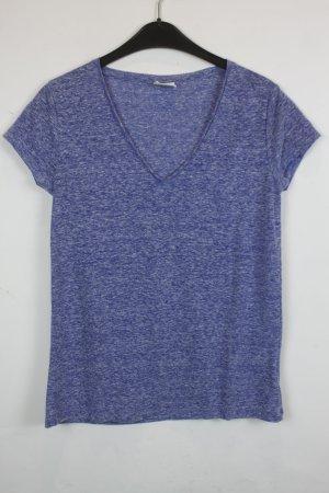 Hartford T-Shirt Gr. S blau meliert Leinen (18/3/226)