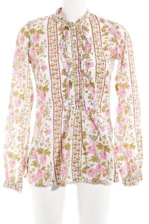 Hartford Tunikabluse florales Muster extravaganter Stil