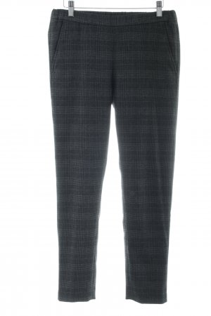 Hartford Pantalon en laine noir-gris clair motif à carreaux style d'affaires