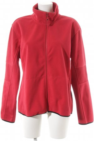Harvest Fleece Jackets dark red simple style