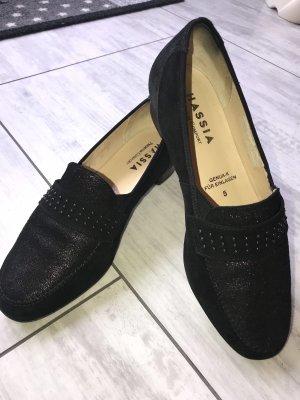 Hassia Damen Schuhe Größe 38 schwarz