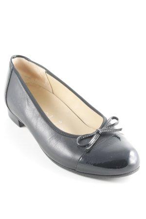 Hassia Lackballerinas schwarz Elegant