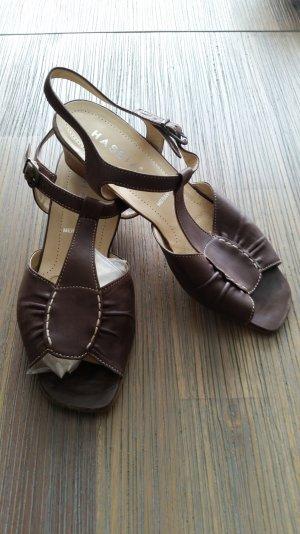 Hassia Sandalen 6 Größe braun