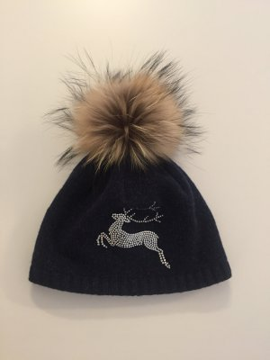 Bobble Hat dark blue