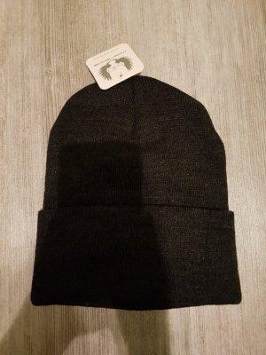 Haube Mütze One-Size schwarz