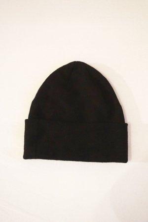 H&M Gebreide Muts zwart