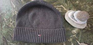 Tommy Hilfiger Woolen Hat silver-colored wool
