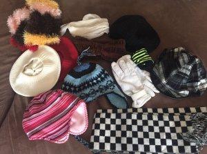 Hauben, Schals, Handschuhe, Stirnband