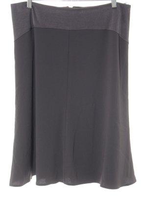Hauber Falda asimétrica gris oscuro estilo «business»