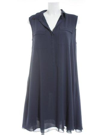 Hauber Blusenkleid dunkelblau Casual-Look