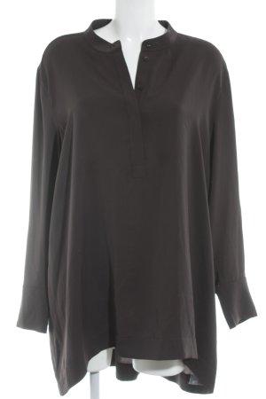 Hauber Blusa de manga larga negro look casual
