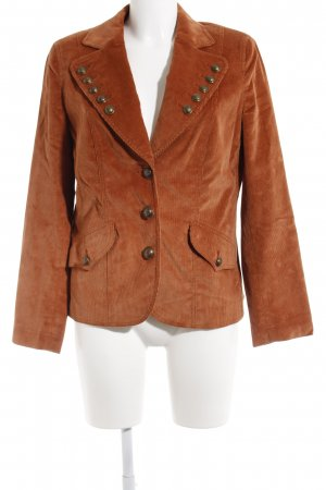 Hauber Long-Blazer dunkelorange Casual-Look